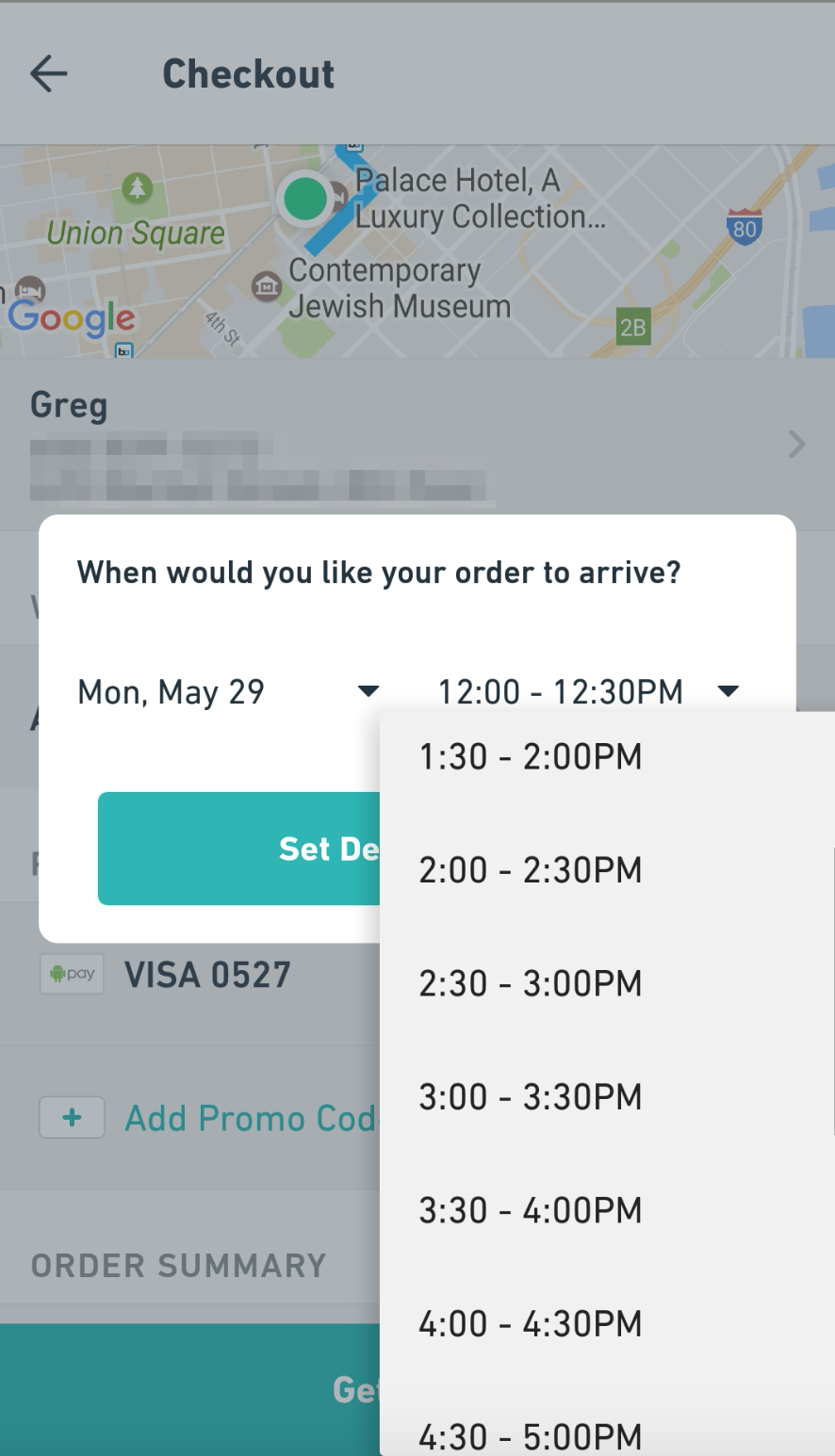 Can I schedule my delivery in advance? - Postmates